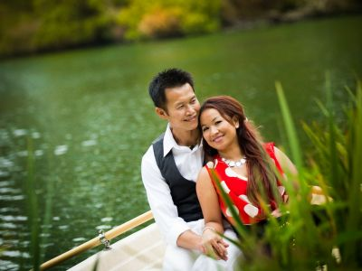 Stow Lake San Francisco Engagement Photography