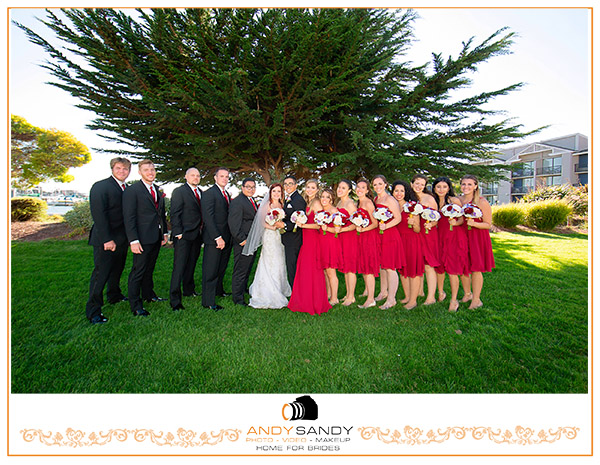 Natalie & Lester's wedding at Doubletree Marina Berkeley