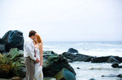 Big Sur Monterey Beach Wedding Photography