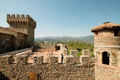 Castello di Amorosa in Calistoga 2 Hrs From SF