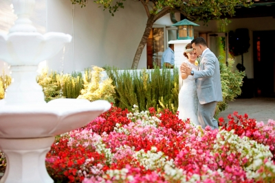 Hacienda De las Flores Wedding Photography in Moraga CA