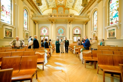 Cathedral Basilica of St. Joseph San Jose & Reception at Shannon Community center Dublin CA