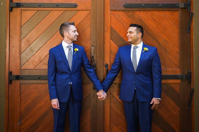 LGBT wedding videography at Gloria Ferrer Caves and Vineyards in Sonoma - Amazing gay wedding