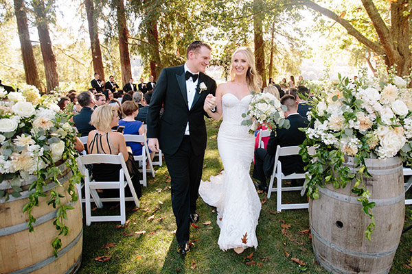 Napa wedding videography at Charles Krug Winery St Helena