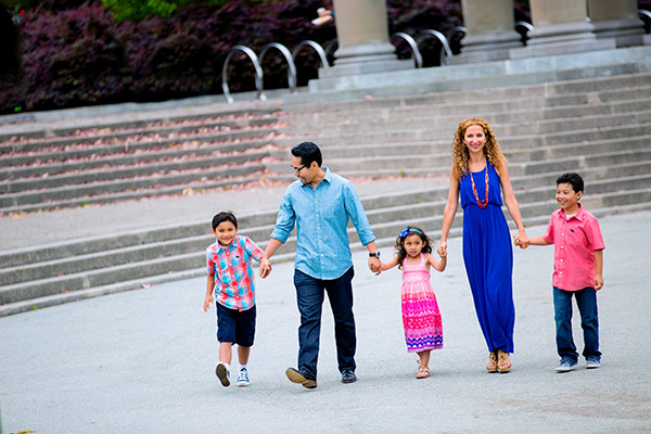 Family portrait photography in Golden gate park San Francisco