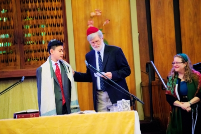 Bar Mitzvah at Or Shalom Jewish Community