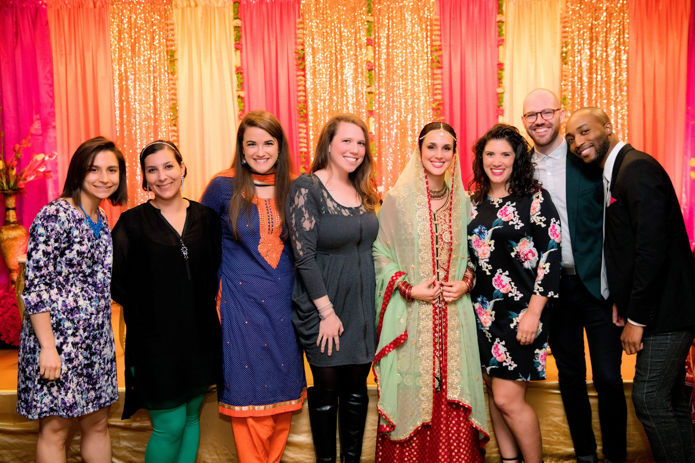 Mehndi Ceremony at Chandni Restaurant in Fremont