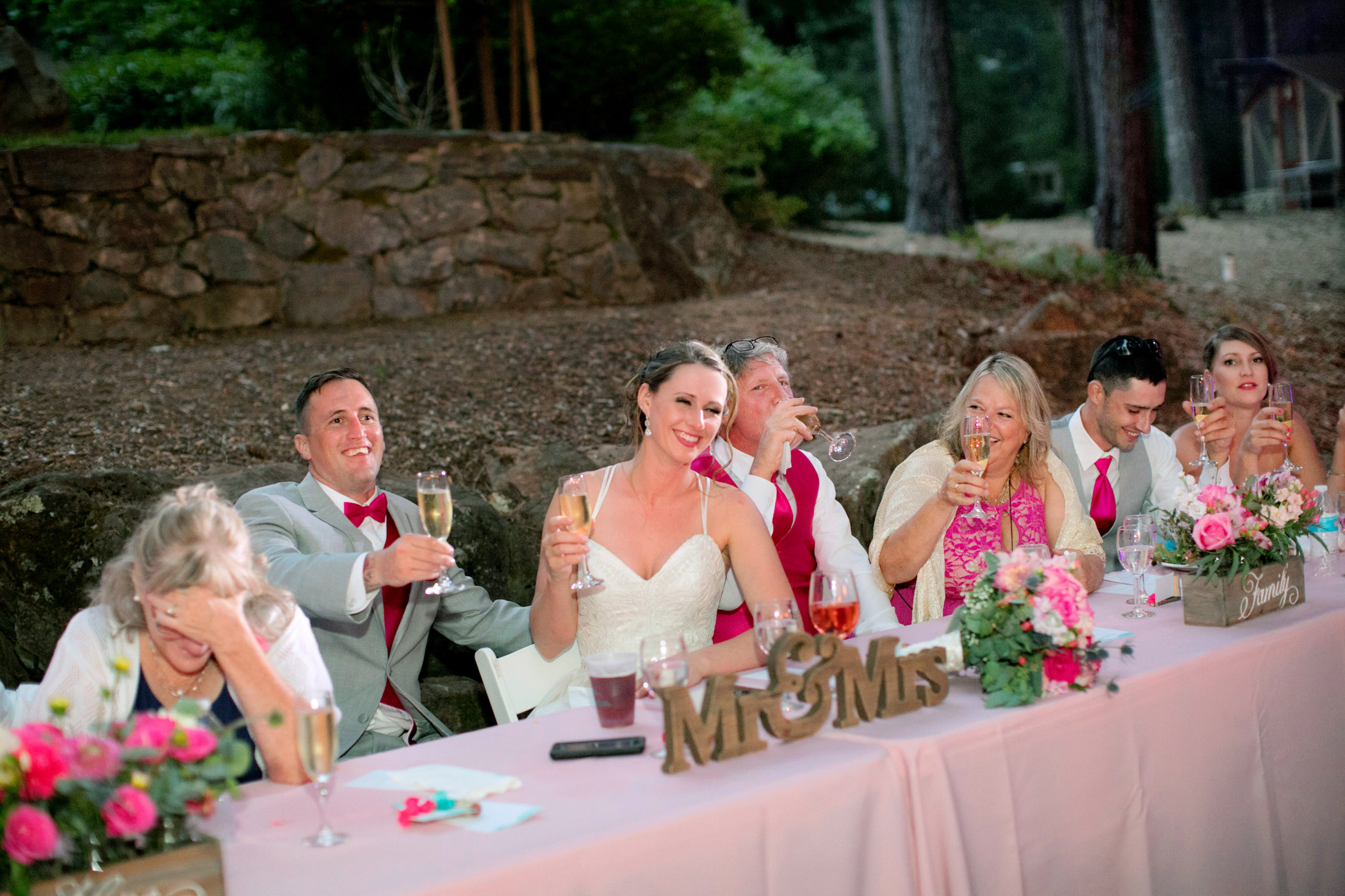 Northern California Redwood forest wedding
