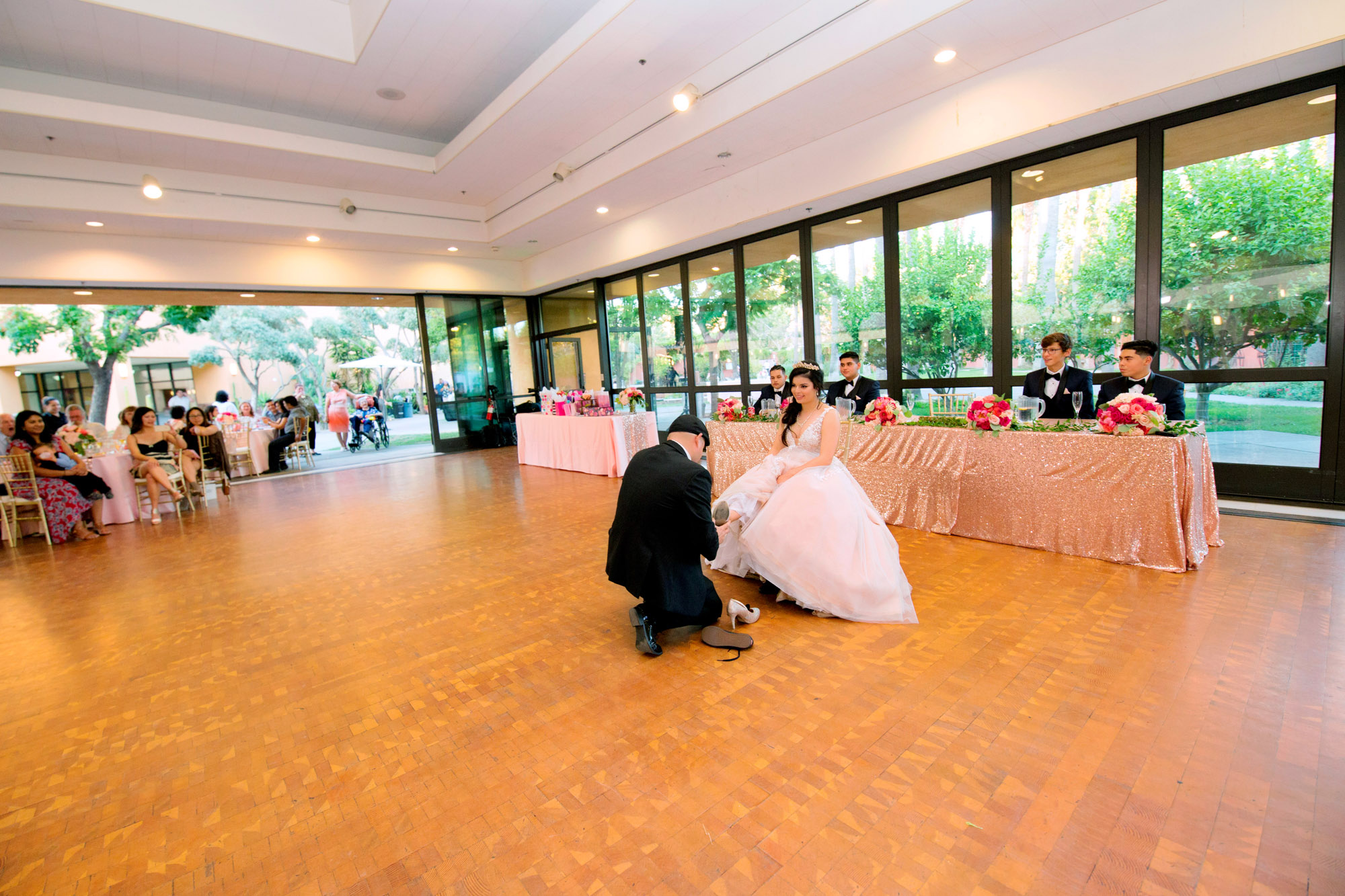 Quinceanera at Mexican Heritage Plaza San Jose