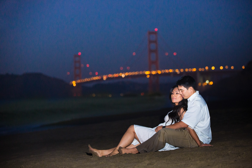 Another beach location for engagement photography. Baker Beach – San Francisco CA – another excellent choice e session photography