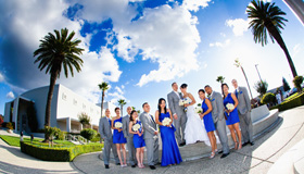 Places to take your Bridal Party portrait for Oakland wedding photographer & San Francisco wedding photographer