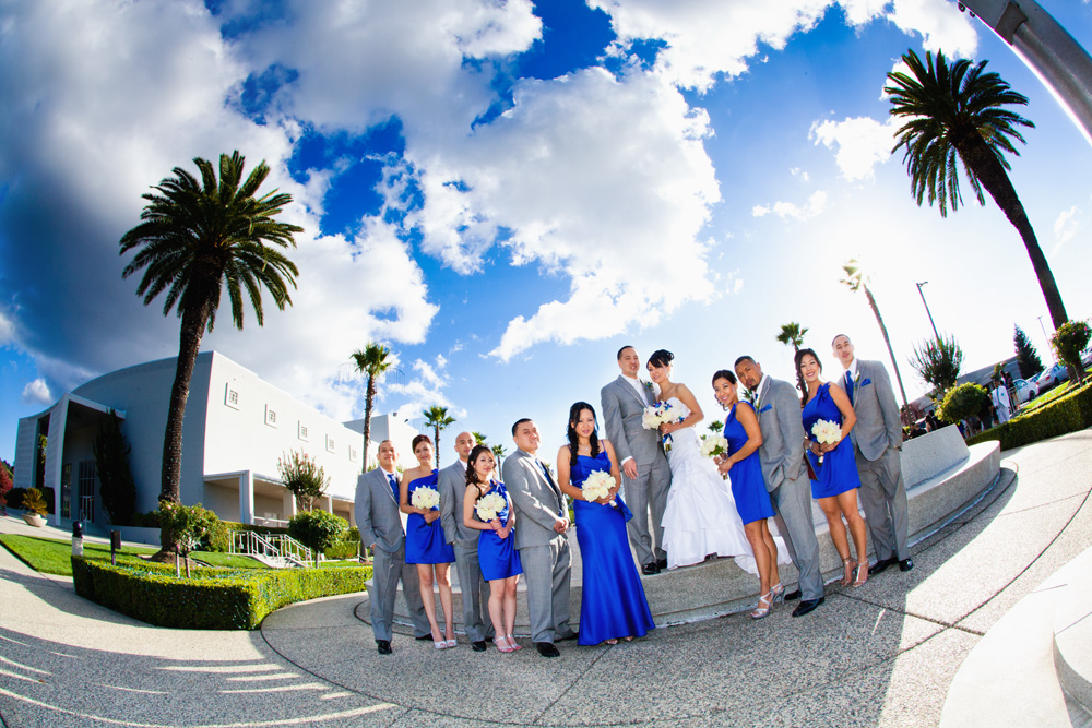 Places To Take Your Bridal Party Portrait For Oakland Wedding Photographer San Francisco