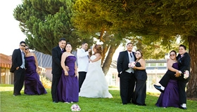 Freedom Hall in Santa Clara by San Jose wedding photographer