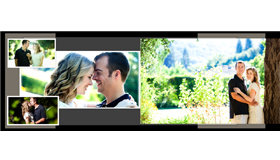 Professional wedding albums by San Francisco photographer Andy Sandy