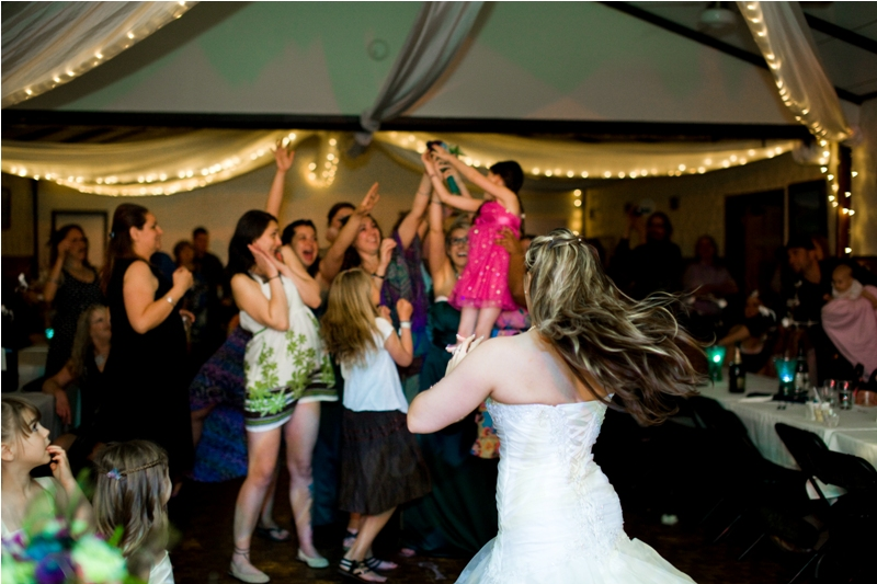 The Tradition Of Tossing Bouquet Garter At The Wedding