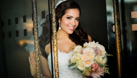 Bridal portrait by Sonoma County wedding photographer