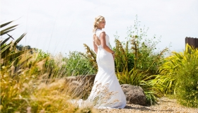 Sonoma Bride Portrait by Sonoma County Wedding Photographer
