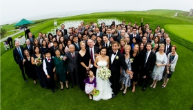 Claire + Clayton Wedding at the Ritz Carlton Half Moon Bay Golf Link Wedding Venue San Jose Wedding Photographer