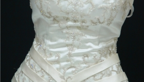 Santa Rosa Bridal Store this is size large dress number 1