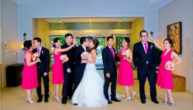 Hein & Patrick Burmese Wedding at Marriott Hotel San Ramon