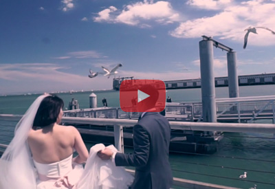 Cinematic Highlight wedding at Front Room at the Wharf Vallejo, CA