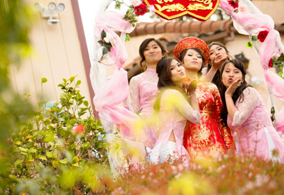 Vietnamese Wedding Photography in San Jose Wedding Banquet at Tang Dynasty Seafood Restaurant