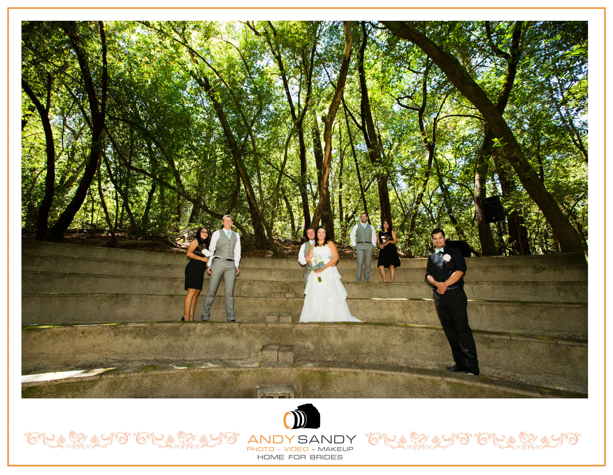 Griffith Woods Santa Rosa Wedding Venue Sonoma County Outdoor Wedding In  The Redwoods Forest Wedding