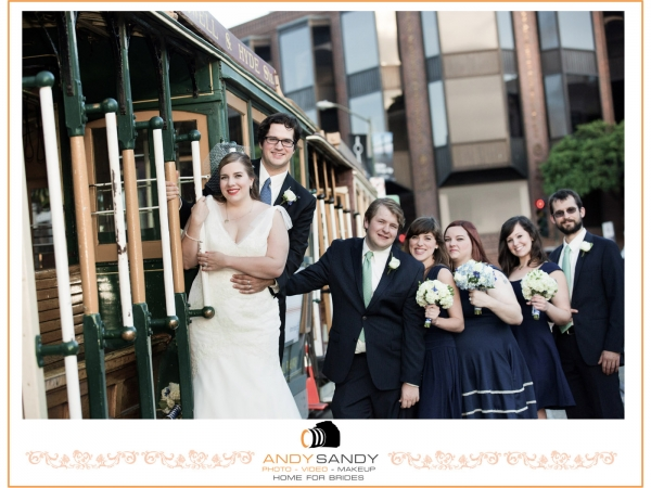 Argonaut Hotel San Francisco Fisherman Wharf wedding photography
