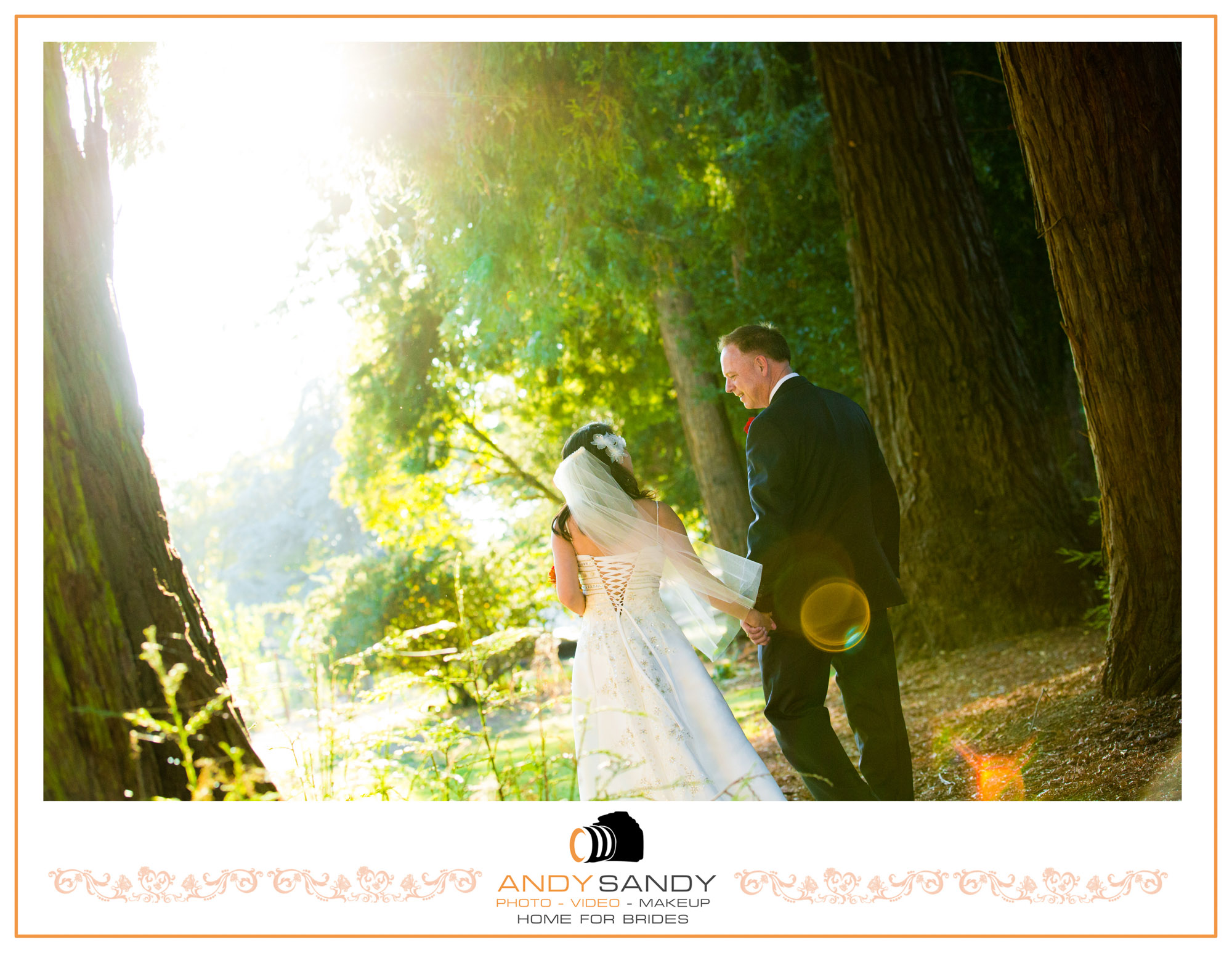 Church of One tree in Santa Rosa CA Sonoma County Intimate wedding