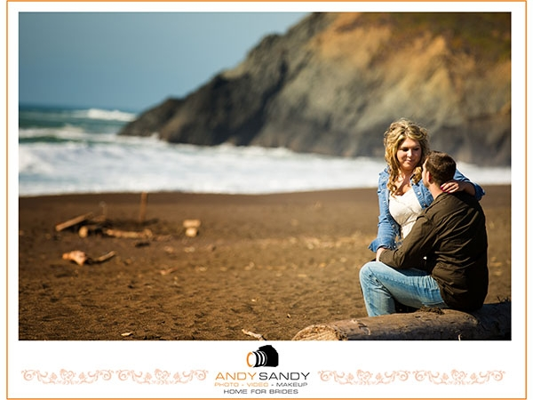 Rodeo Beach Sausalito Wedding photography