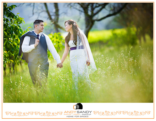 Crystal & Kevin - Post Wedding portrait session at Napa Valley