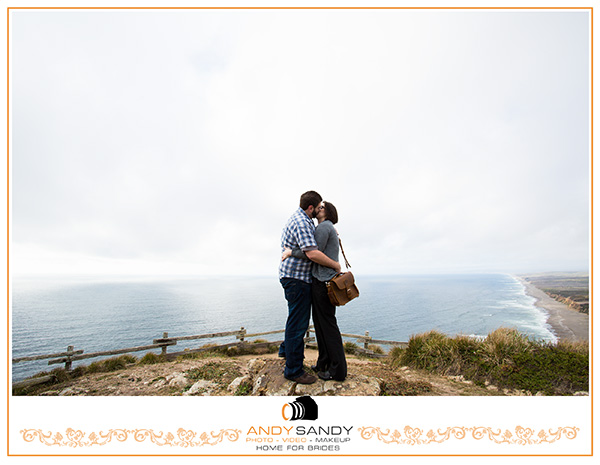 Surprise Marriage proposal at Point Reyes Lighthouse Inverness
