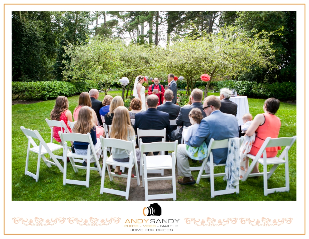 Wedding At Shakespeare Garden Golden Gate Park San Francisco