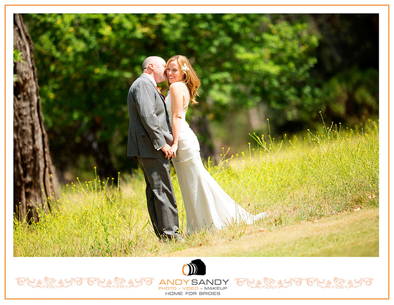 Charles & Amy wedding photography at Sonoma Golf Course