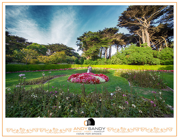 Queen wilhelmina tulip garden Golden Gate Park San Francisco