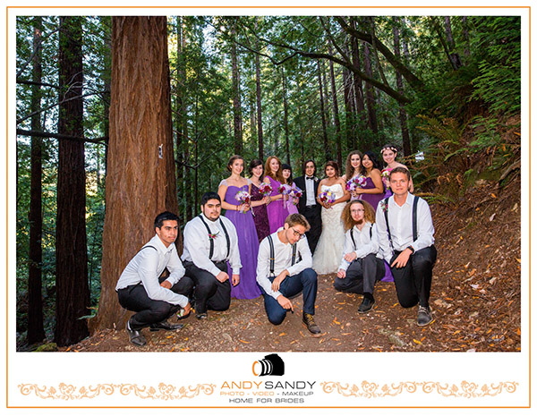 Ralston White Retreat Mill Valley Wedding venue in Mill Valley