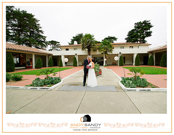 Golden Gate Club Presidio wedding venue San Francisco