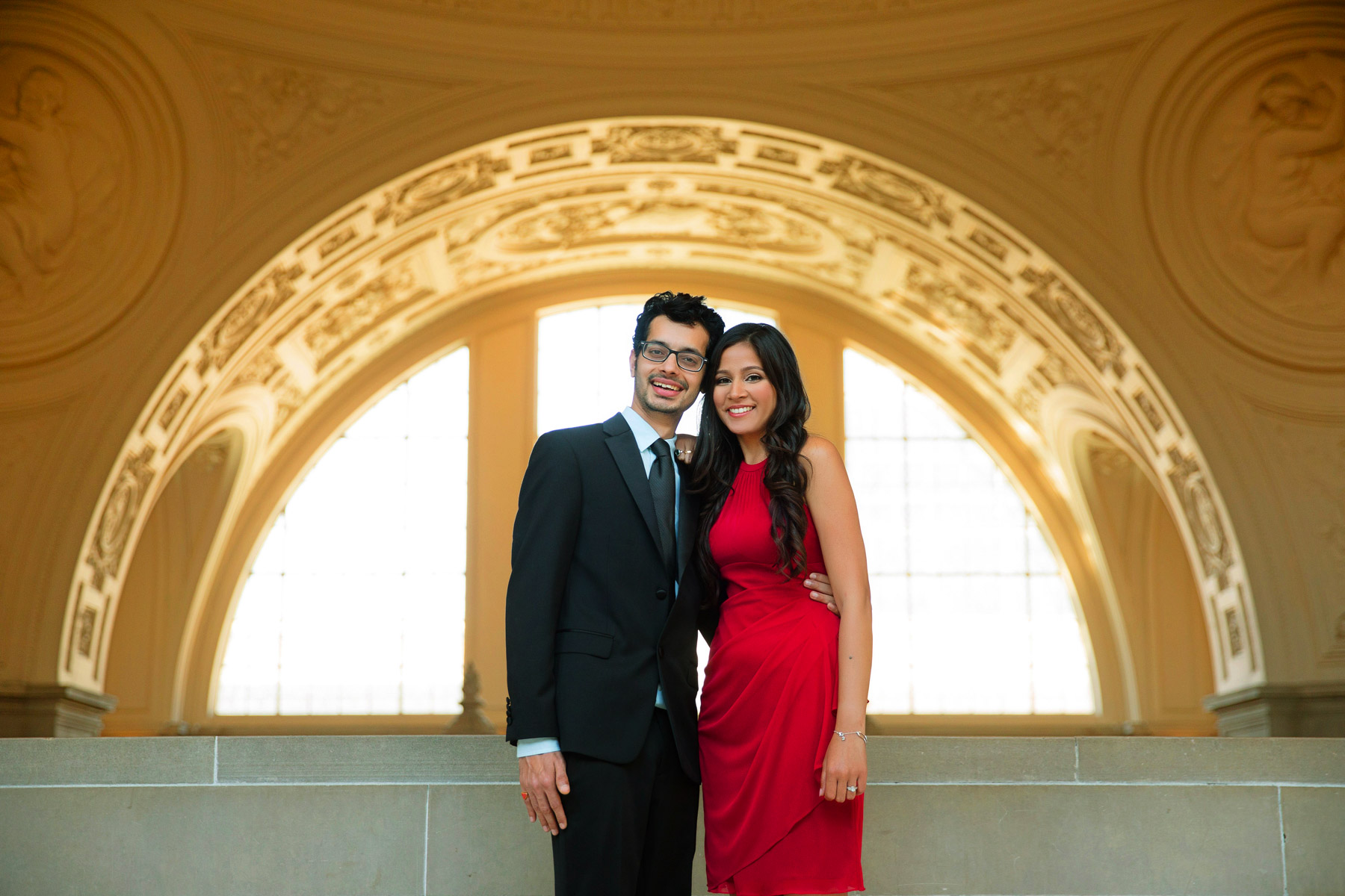 Pooja Aj Portrait Photography At San Francisco City Hall Palace Of Fine Art