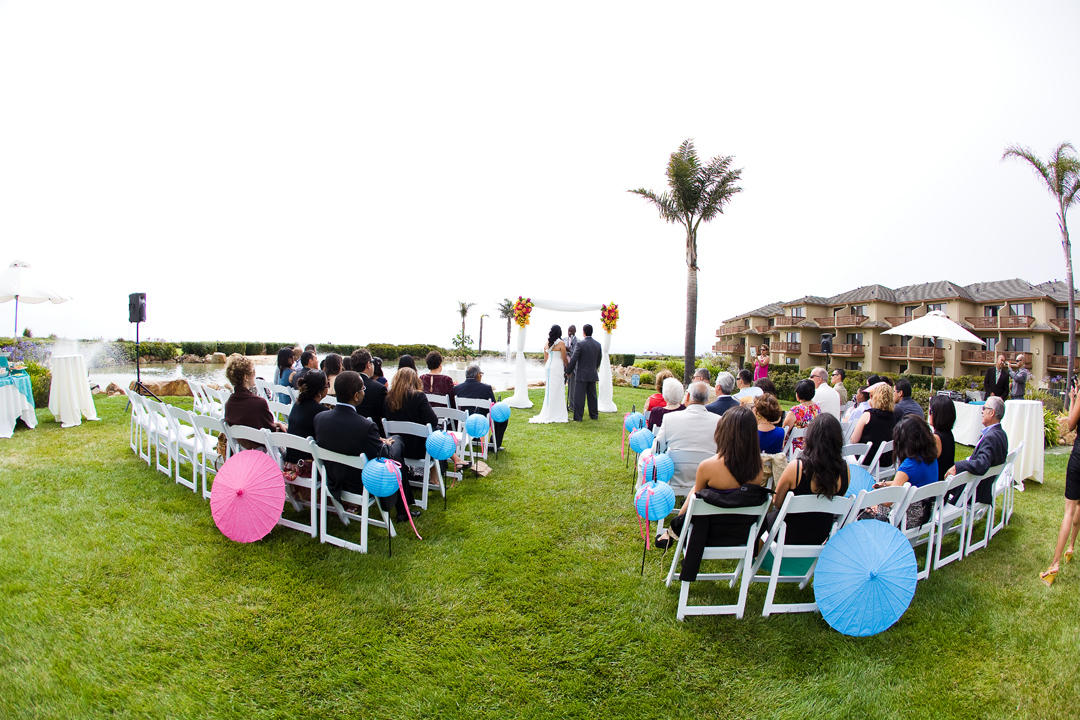 Eva Alejandro Wedding At Seascape Beach Resort Photograph By Monterey Photographers Andy Sandy